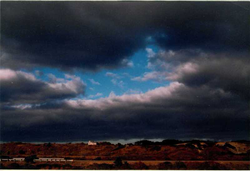 landscape and sky in North Truro, Massachusetts